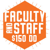 Faculty Staff Add On $:  Buy $150  - Get $172.50