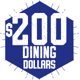 $200 R-DB Dining Dollar Plan