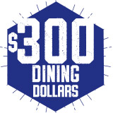 $300 Dining Dollar Plan